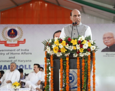 Rajnath rolls out  Student Police Cadet  project in Gurugram