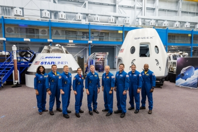 Sunita Williams among 9 astronauts to fly into space from US soil (Lead)