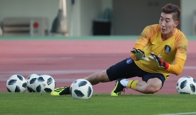 S. Korean keeper puts World Cup memories behind for Asiad gold