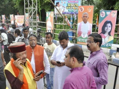 Shah s rally: BJP yet to get green light for drone