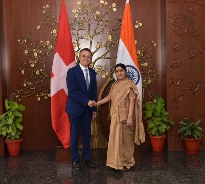 India, Switzerland discuss bilateral ties, black money