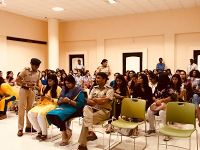 Women safety awareness drive held in Gurugram