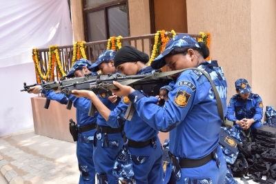 All-woman SWAT team ready to fight terrorists in Delhi