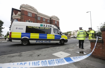 10 injured in shooting at street party in Manchester