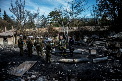 10 killed in nursing home fire in Chile