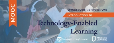 COL s next online course for teachers starts on October 29