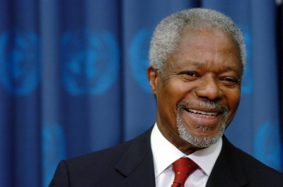 Former UN Secretary-General Kofi Annan dies at 80 (Lead)