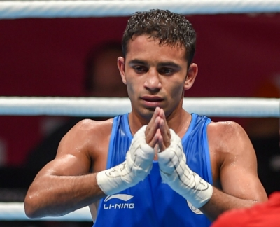 Amit Panghal wins gold at Asian Boxing Championships (Lead)