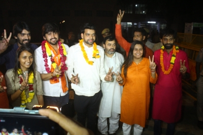 ABVP bags President, two other posts in DUSU polls (Lead)