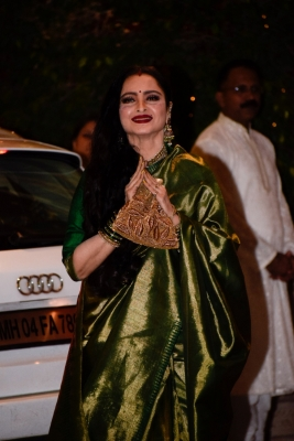 Bollywood stars celebrate Ganesh Chaturthi at Ambani s bash