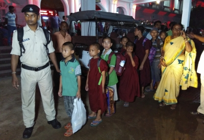 18 girls rescued from Bihar school reach Tripura