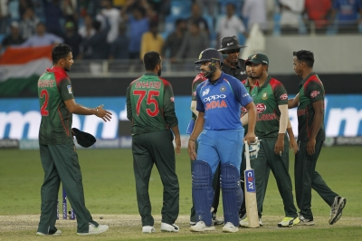 Asia Cup: Rohit, Jadeja star in India s 7-wkt win over Bangladesh (Lead)