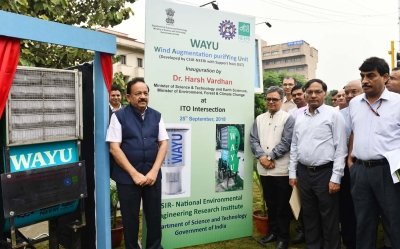 WAYU device to purify air in Delhi: Harsh Vardhan