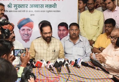 Naqvi faces wrath of ASHA, Anganwadi workers in Rajasthan