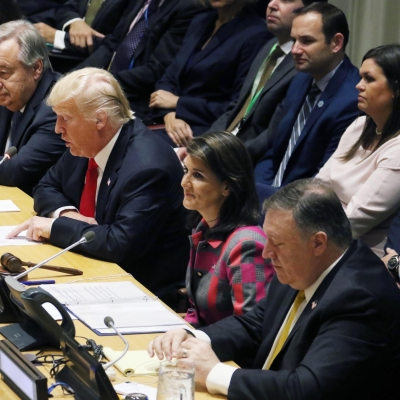 Nikki Haley quits as US Ambassador to UN (Lead)