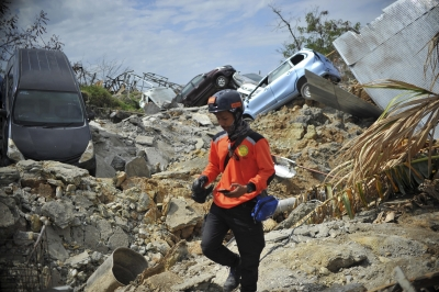 Indonesia quake, tsunami toll climbs to 2,045