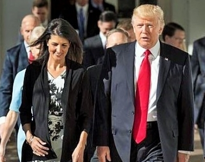 Nikki Haley exits Trump administration with her reputation significantly enhanced (News Analysis)