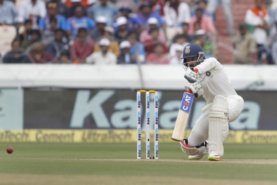 India ride Rahane century to set WI target of 419