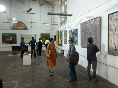 First joint-expo of S.Korea, Maharashtra artists opens in Mumbai