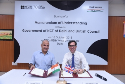 Delhi signs MoU with British Council for English skilling (Lead)