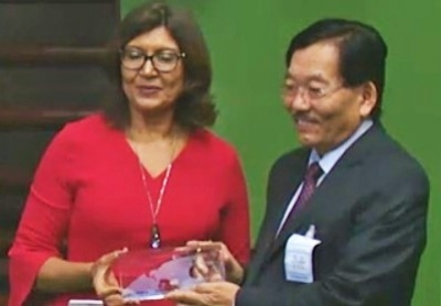 Chamling receives FAO award for Sikkim becoming world's first organic state