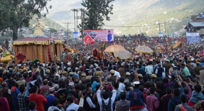 'Gods', 'goddesses' arrive at Kullu Dussehra