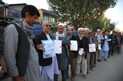 5 killed, 118 injured in Afghanistan's polling day violence