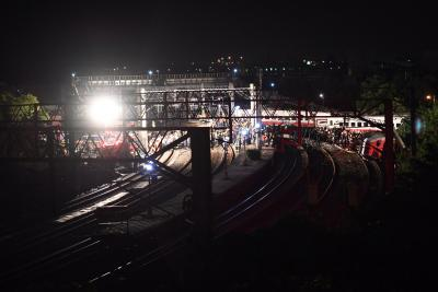 22 dead as train derails in Taiwan