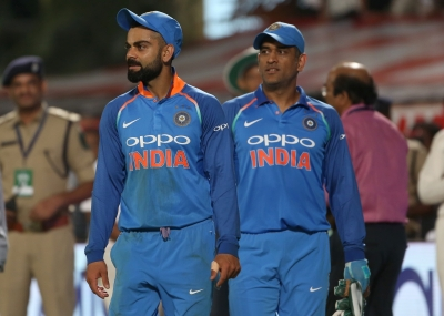 Kohli thanks Dhoni for backing him as a youngster