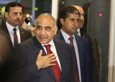 Caretaker PM denounces US sanctions on Iraqi figures