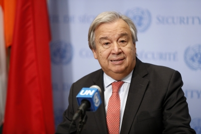 Guterres asks for universality of Genocide Convention