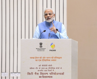 400 districts to have city gas networks in 2-3 years: Modi