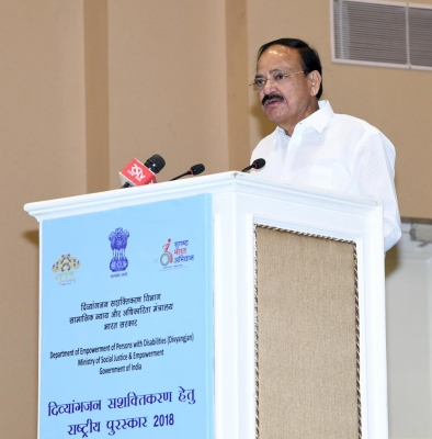 Ensure benefits reach persons with disabilities: Naidu