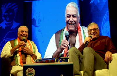 Yashwant Sinha yet again compares Modi with Tughluq
