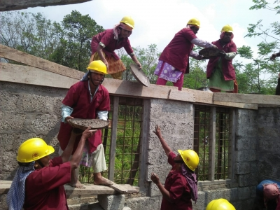 Breaking the glass ceiling in a male world: How an all-women construction group built a Kerala house (IANS Special Series)