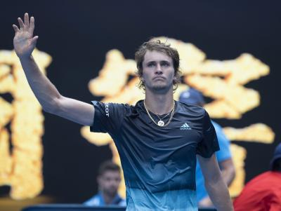 Federer says Zverev could win a Grand Slam this year
