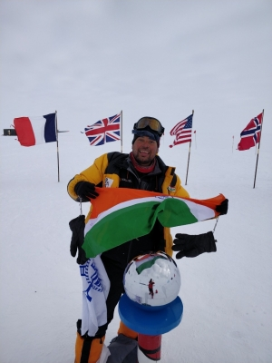 At 35, Siddhanta is worlds youngest mountaineer to climb 7 volcanic peaks