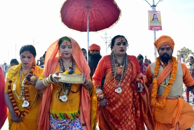 1 crore devotees, 'Kinnar Akhara' take holy dip on Paush Purnima at Kumbh