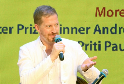 There's nothing called Writer?'s Block: Pulitzer-Winner Andrew Sean Greer (IANS Interview)