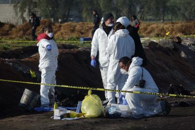 Mexico pipeline blast toll reaches 85 (Lead)