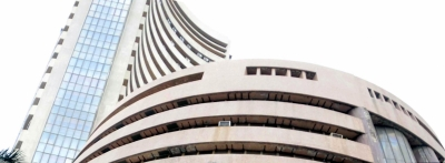 Sensex climbs over 960 pts after exit polls