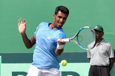 परजनेश,परवेश,Kolkata,India,Gunneswaran,Italy,Andreas Seppi,Andreas SeppiDavis Cup World Group