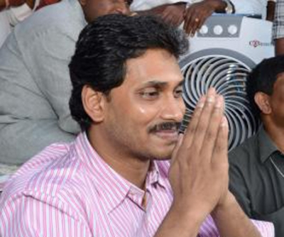 Jaganmohan Reddy declares assets worth Rs 375 cr (Lead, correcting headline)