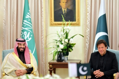 MBS gives his private jet to Imran for US travel
