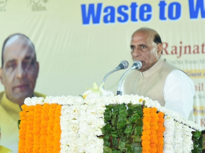 Time will come when people's sentiments will have fulfilment: Rajnath