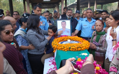 Surya Kiran pilot cremated in Haryana with military honours