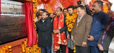 Javadekar, Himachal CM lay foundation stone of Central University