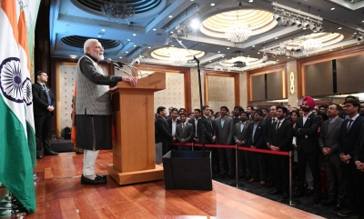 PM highlights India progress in Seoul