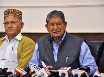 Ex-CM Rawat sits on fast against death of Dalit youth