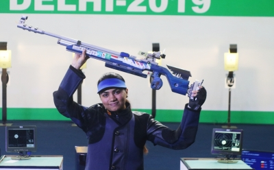 Apurvi Chandela wins 10m air rifle gold at Munich WC